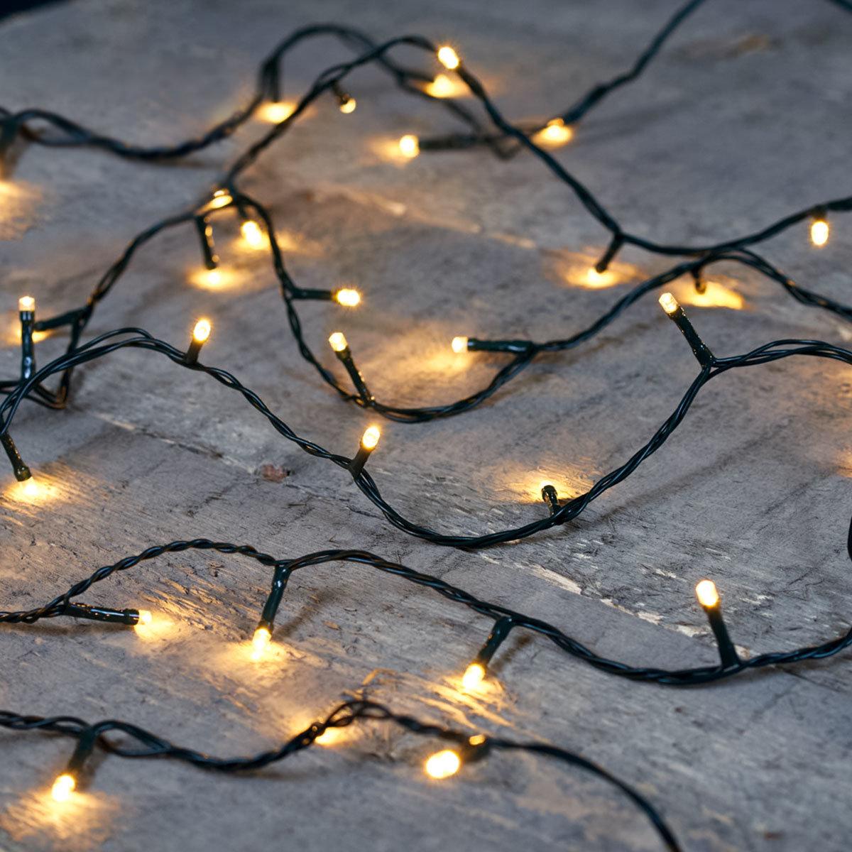 Premium LED-Lichterkette, 180 LEDs, 18 m