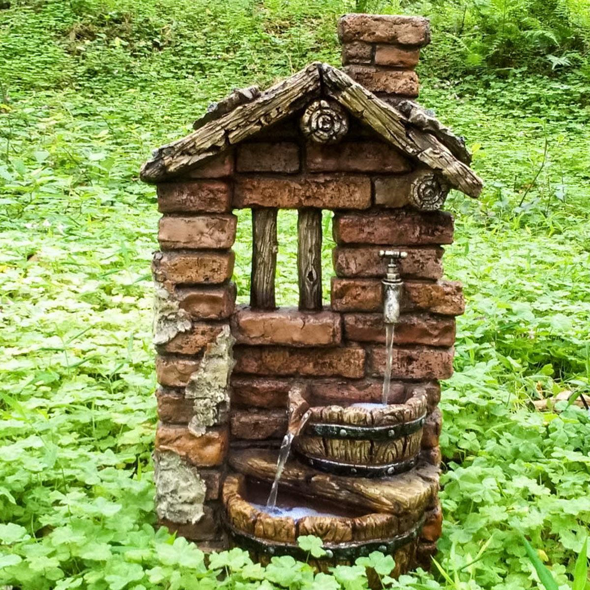 Brunnen HERA mit Pumpe 300 l/Std.