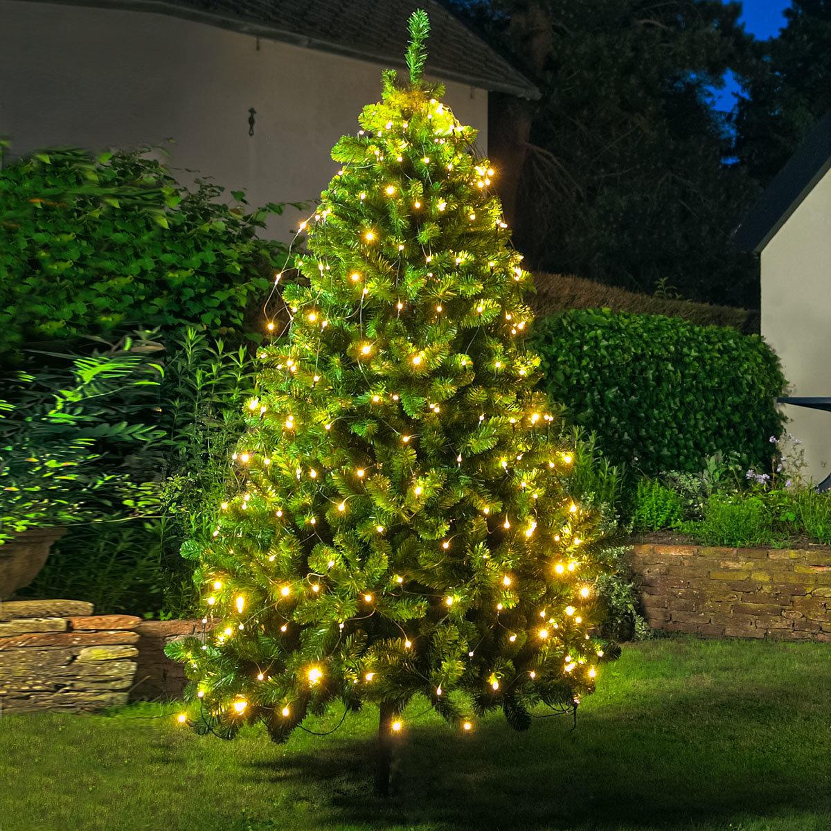 Weihnachtsbaum Netzbeleuchtung