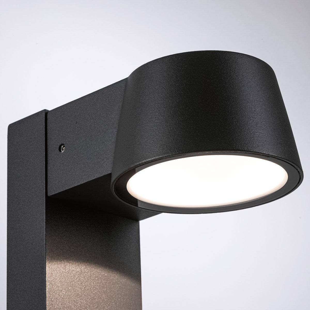 LED Outdoor Pollerleuchte Capea, 3000K 6W 230V IP44,  Alu, grau