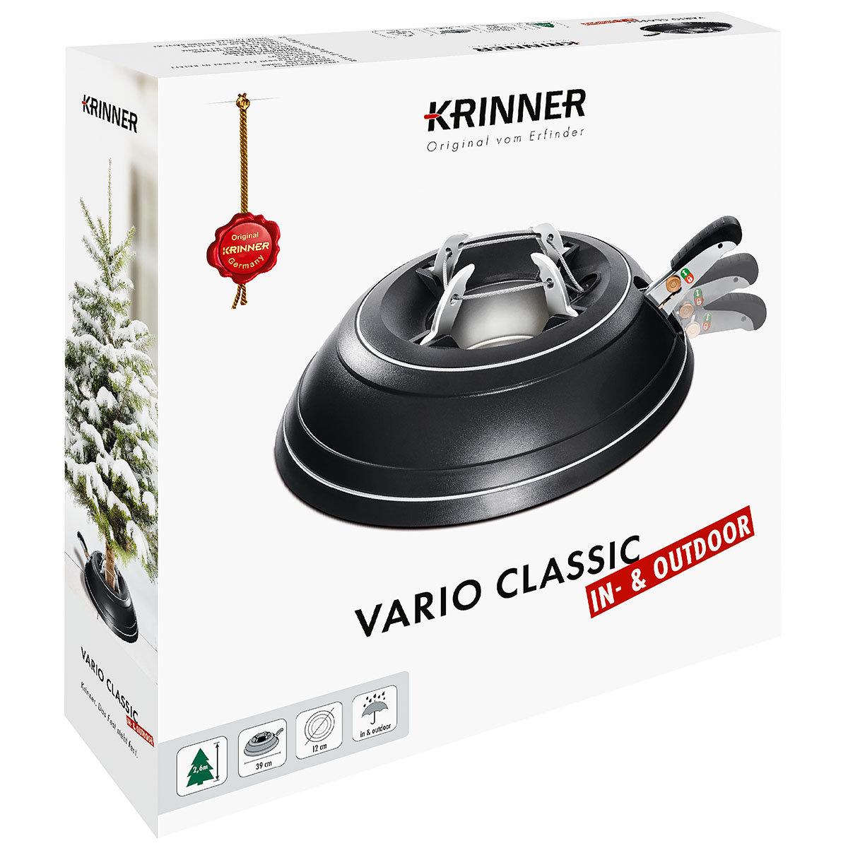 """Tannenbaumständer """"Vario Classic"""", Metall verzinkt, schwarz"""