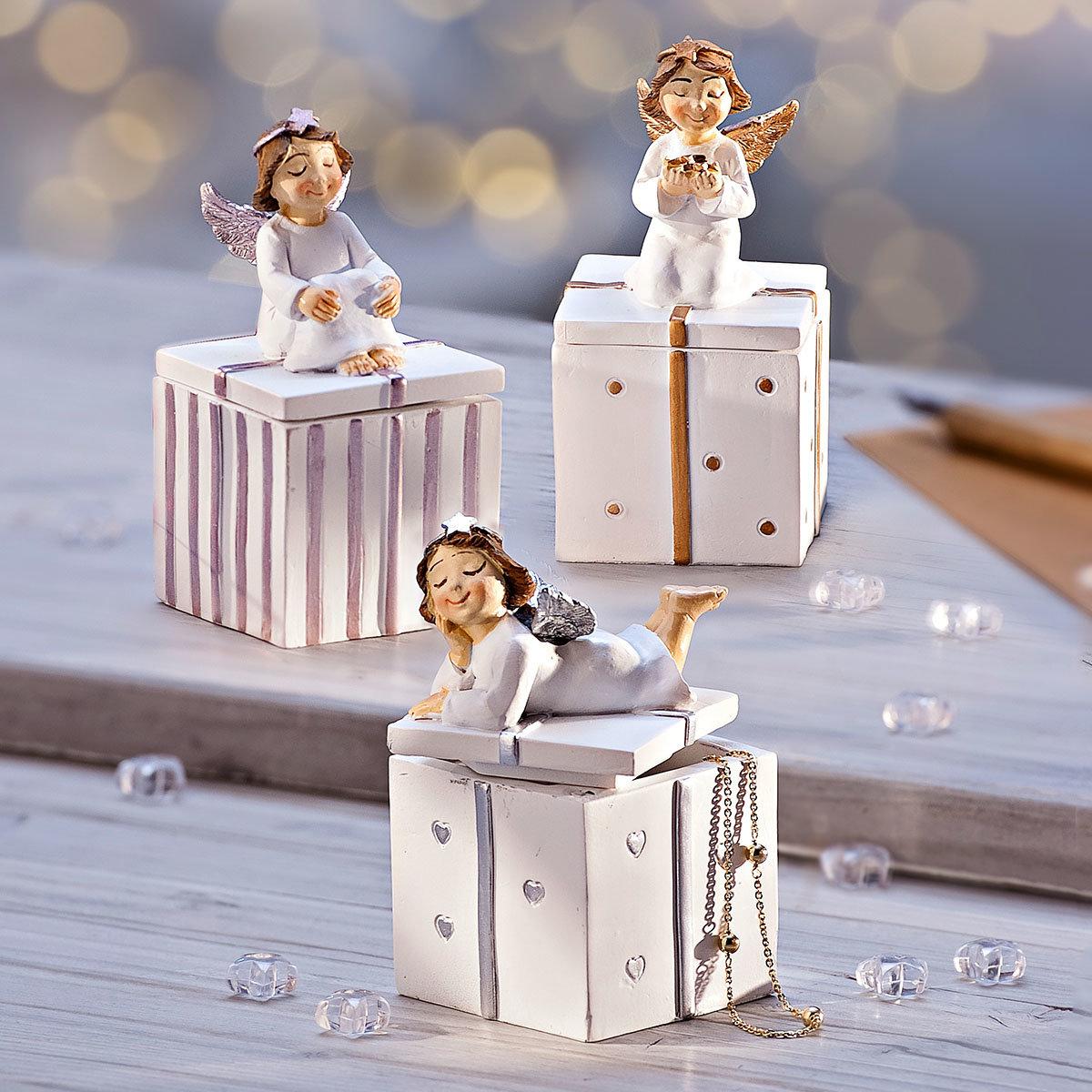 Geschenkdosen Wunschengel, 3er-Set