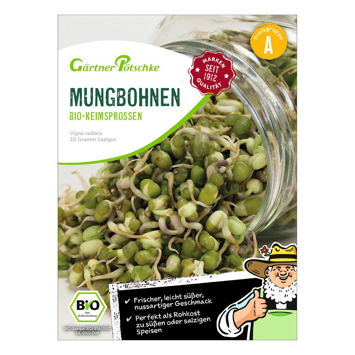BIO Keimsprossen Mungbohnen, 30 g