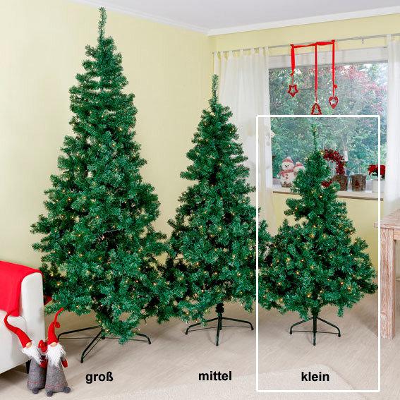 LED Weihnachtsbaum Merry Christmas, klein
