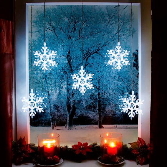 led lichtervorhang schneeflocken von g rtner p tschke. Black Bedroom Furniture Sets. Home Design Ideas