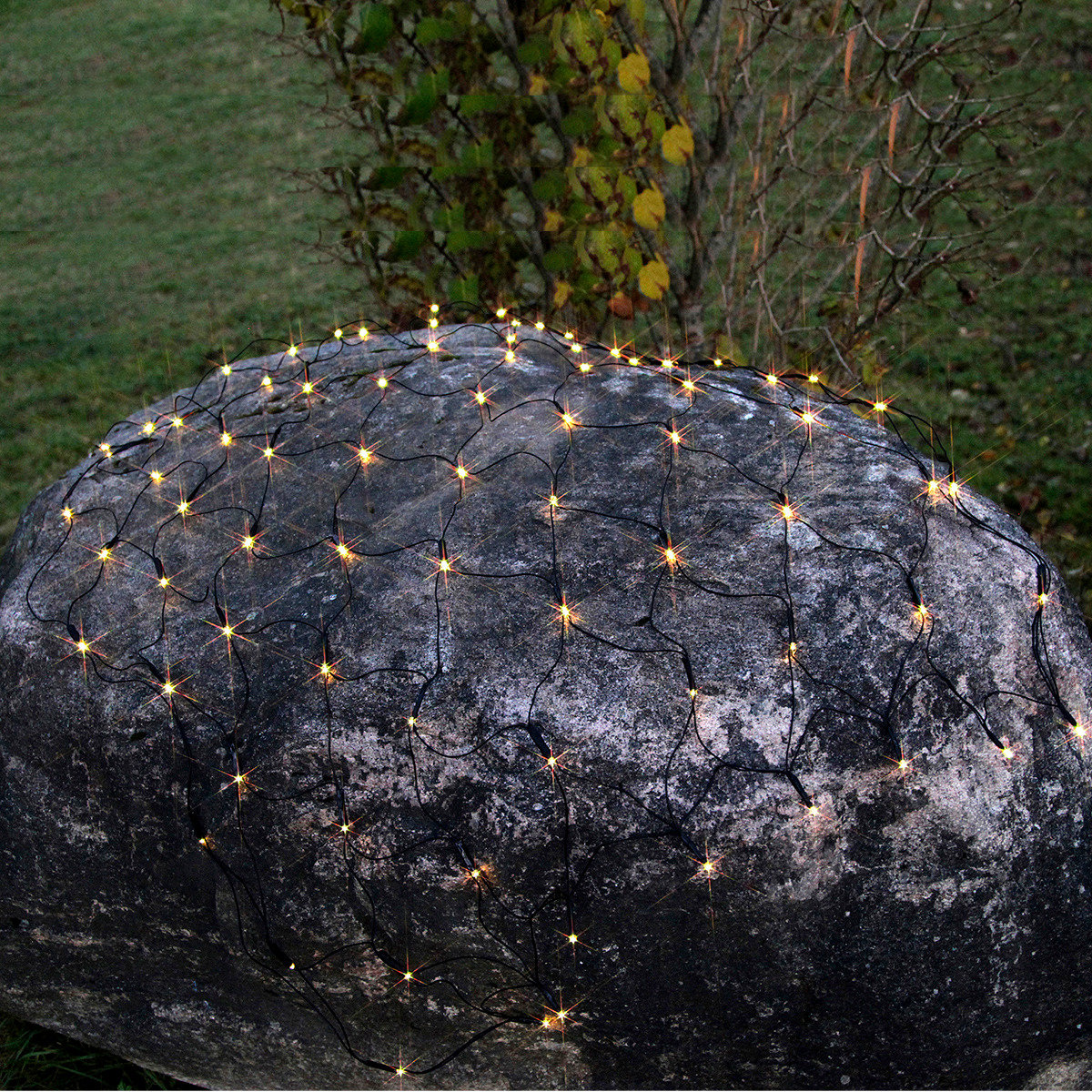 Batterie-LED-Lichternetz 80 LEDs
