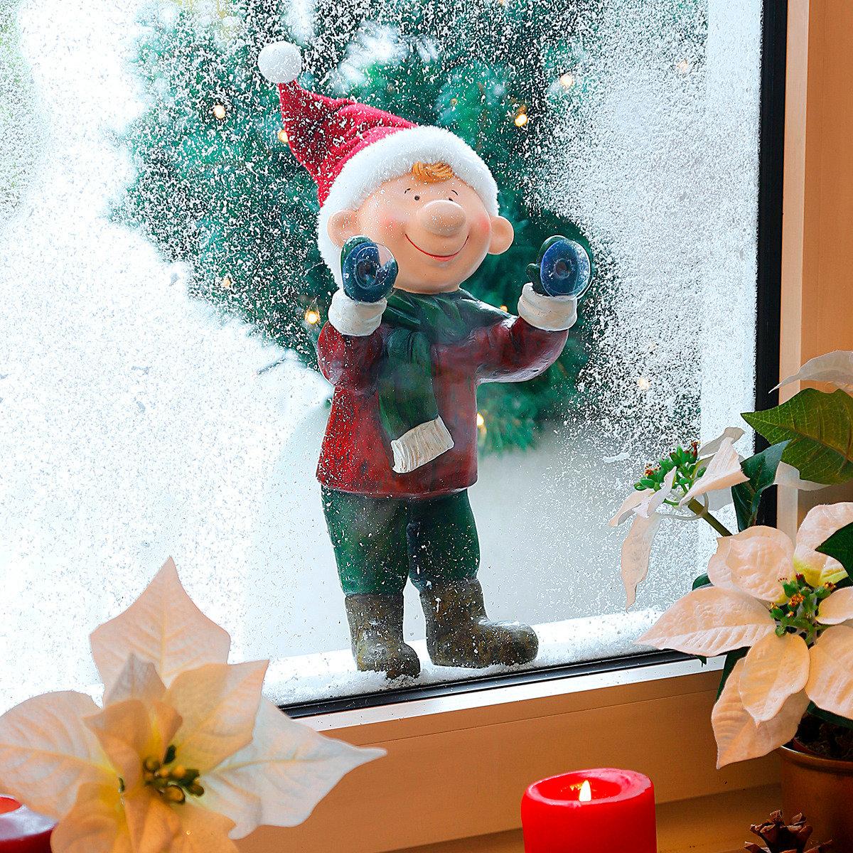 Weihnachts-Fenstergucker Felix