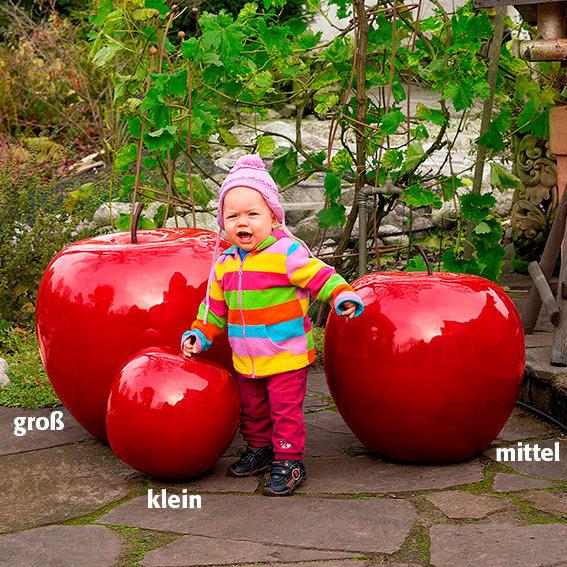 Gartendeko riesen apfel gro durchmesser 64 cm von for Gartendeko neuheiten