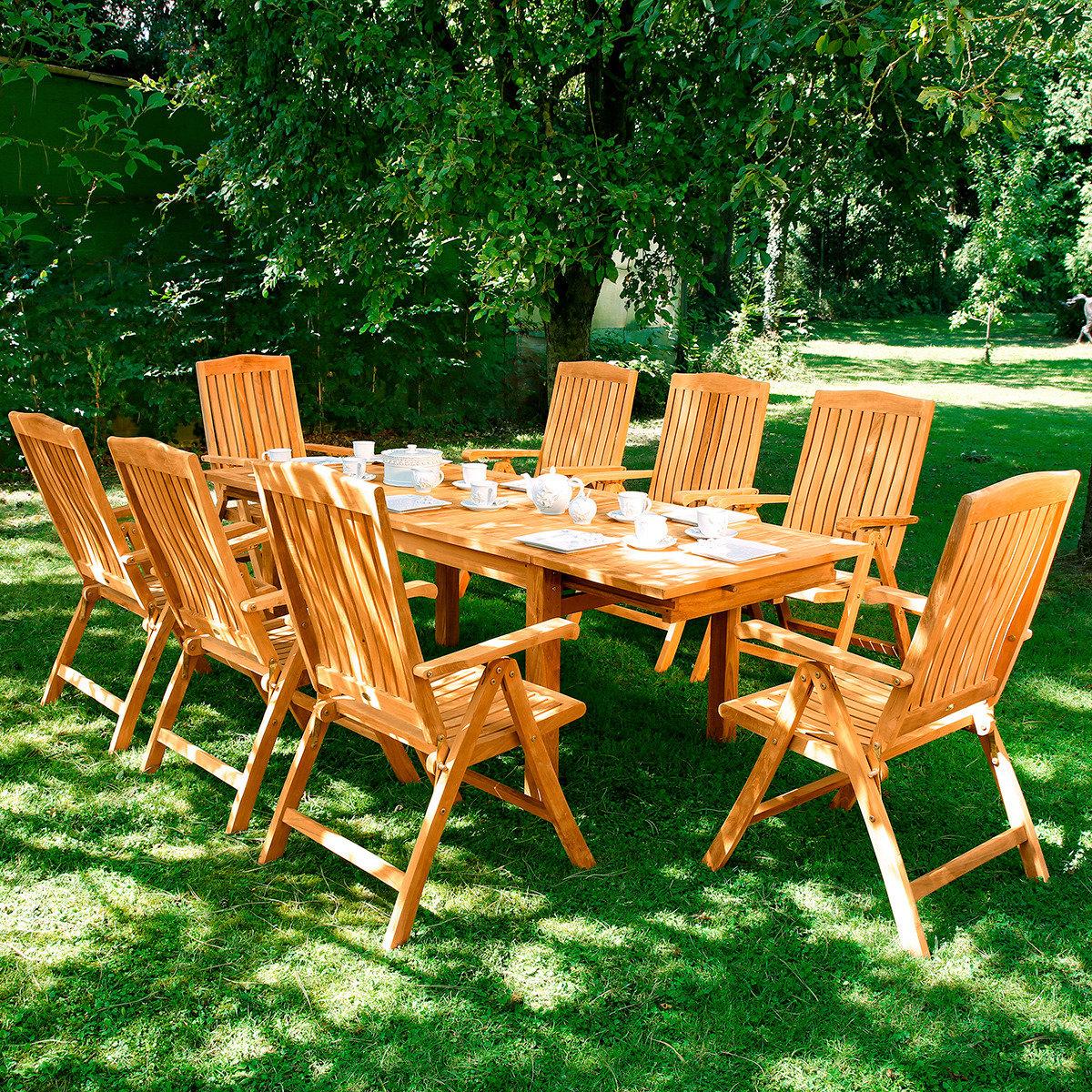 Maxi-Sitzgruppe Wimbledon Park mit 8 Sesseln