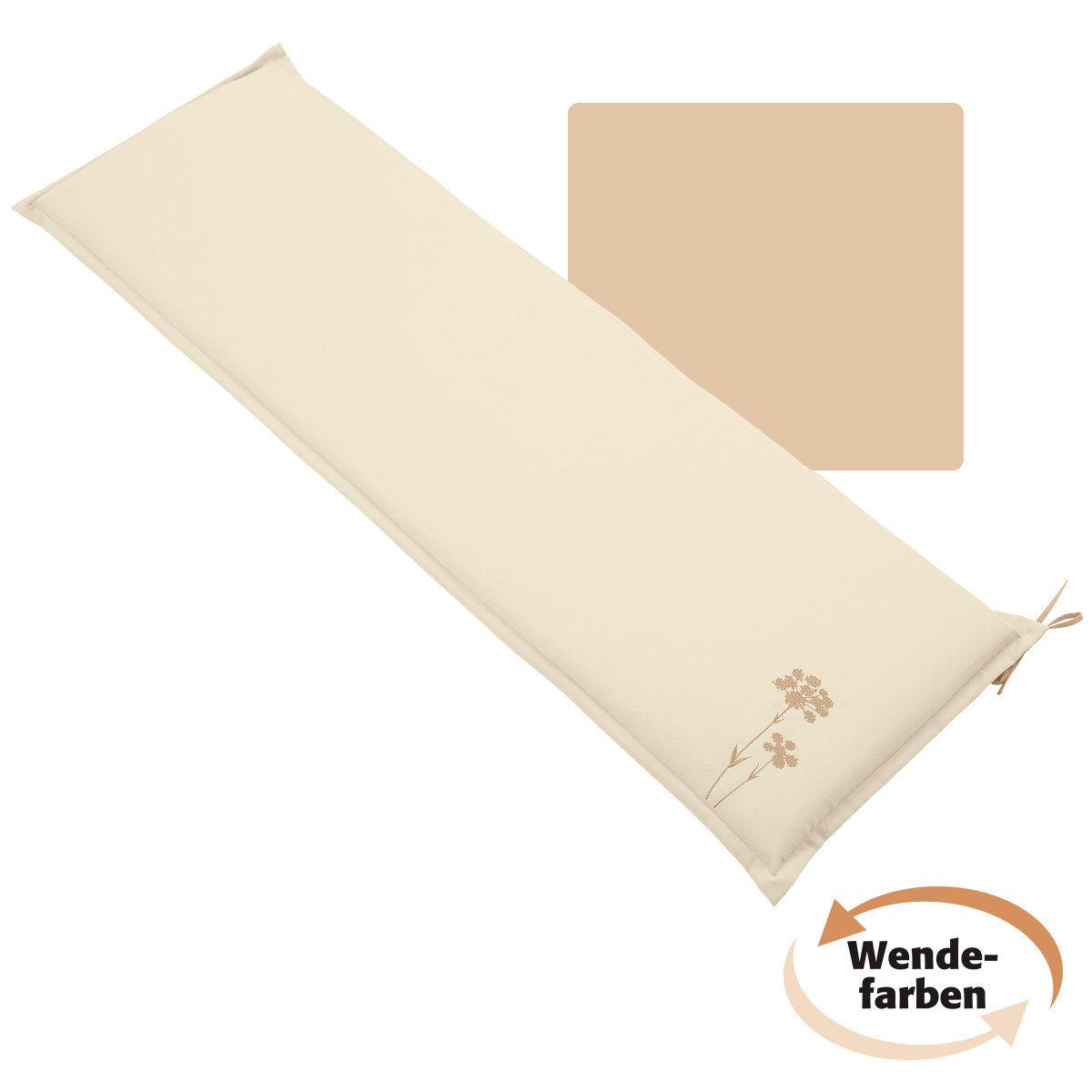 sitzbank kissen samba anisa 150 cm sand beige von. Black Bedroom Furniture Sets. Home Design Ideas