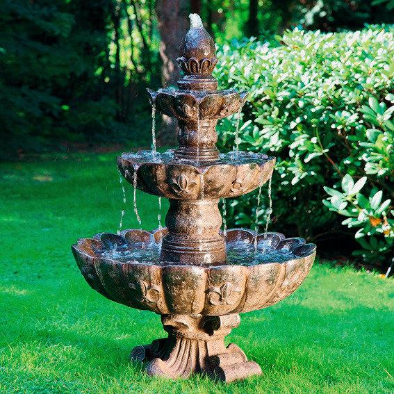 Kaskaden Brunnen Fontaine De Palais