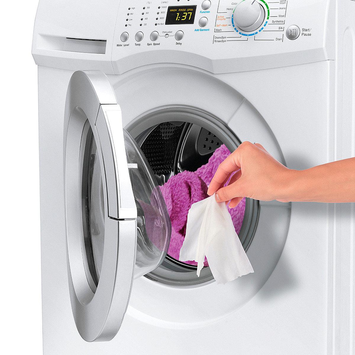 Waschmittel-Tücher Sauber & Rein, 160 Stück