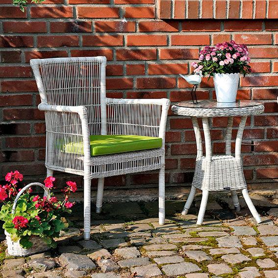 outdoor rattan stapelstuhl sylt inkl auflage von g rtner p tschke. Black Bedroom Furniture Sets. Home Design Ideas