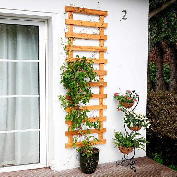 Rankger st wandhalterung landhof klein von g rtner for Wandhalterung pflanzen
