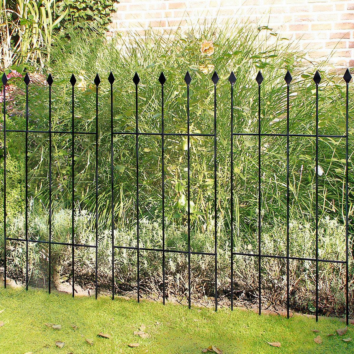Gartenzaun Basic, 3er-Set