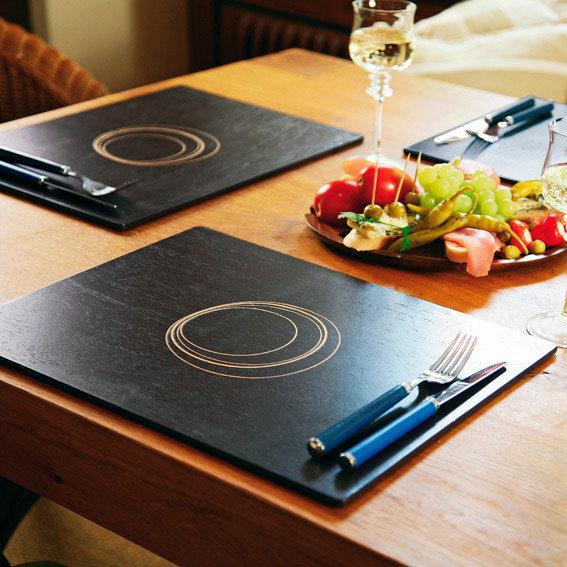 Tischsets Circles, 4er-Set