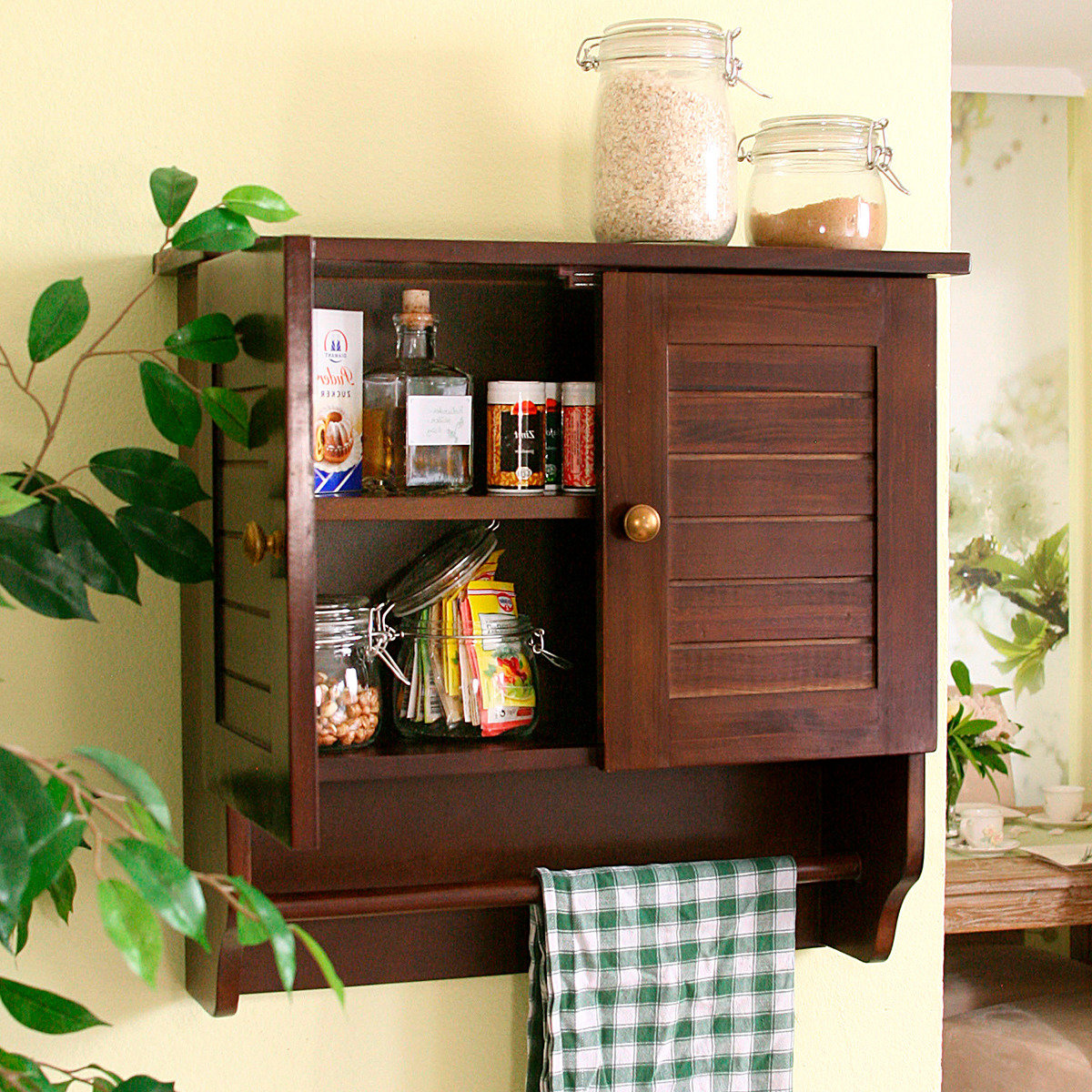 wandschr nkchen old cottage von g rtner p tschke. Black Bedroom Furniture Sets. Home Design Ideas