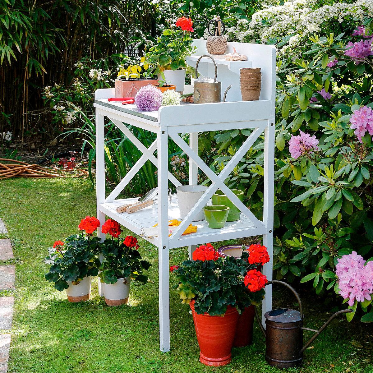 Gartenarbeitstisch und Pflanztisch Premium