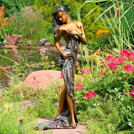 Garten-Bronze-Figur Grazia, groß