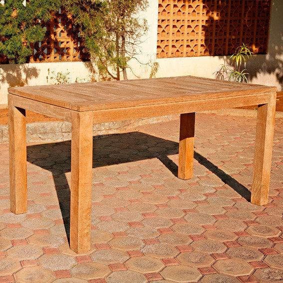 TEAK-Rechteck-Tisch Wimbledon Park