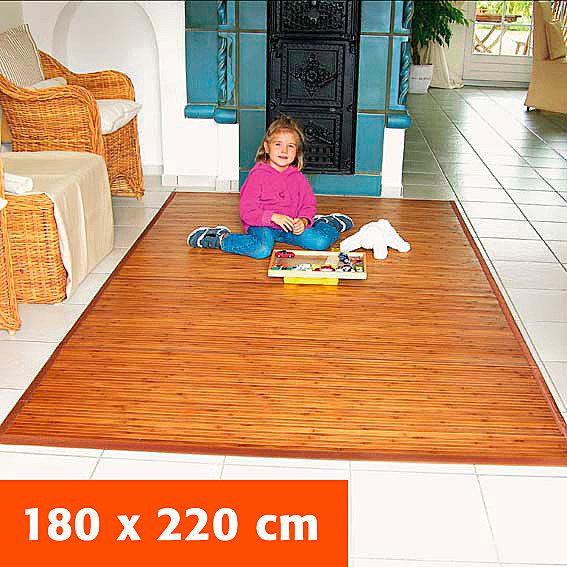 Bambusteppich, 180x220 cm