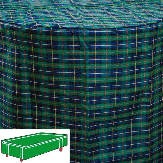 Tisch-Schutzhülle, grün, rechteckig, klein