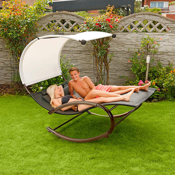 Sonnenliege Dreaming with you mit Schaukelfunktion