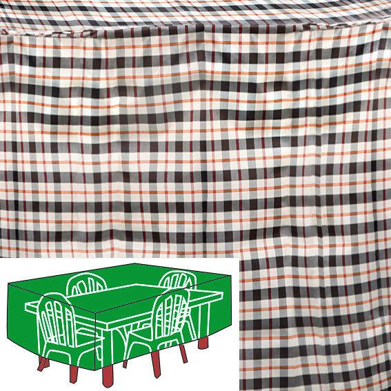 sitzgruppen schutzh lle beige rechteckig gro von g rtner p tschke. Black Bedroom Furniture Sets. Home Design Ideas
