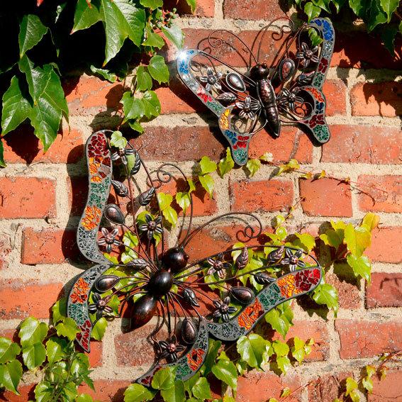 Schmetterlinge lebenslust 2er set online kaufen bei for Gartendeko neuheiten