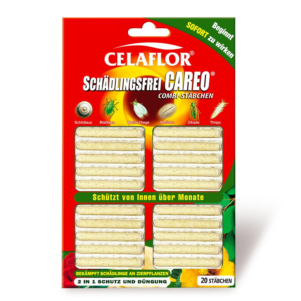 Celaflor Schädlingsfrei Careo Combi-Stäbchen, 20 Stück