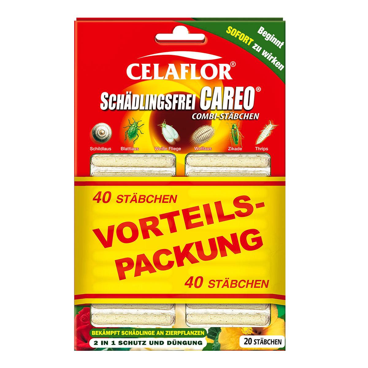 Celaflor Schädlingsfrei Careo Combi-Stäbchen, 40 Stück