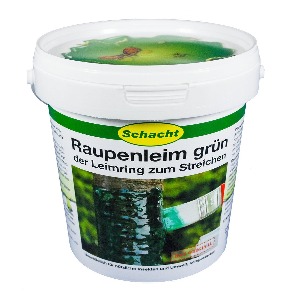 Schacht Raupenleim grün, 1 kg