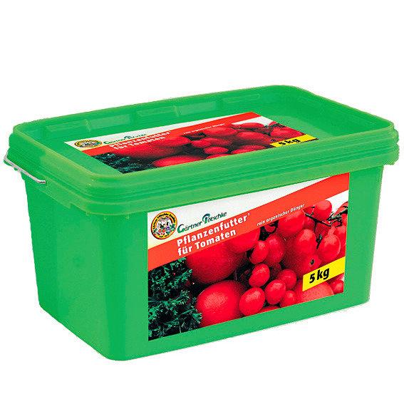 Gärtner Pötschke Pflanzenfutter für Tomaten, 5 kg