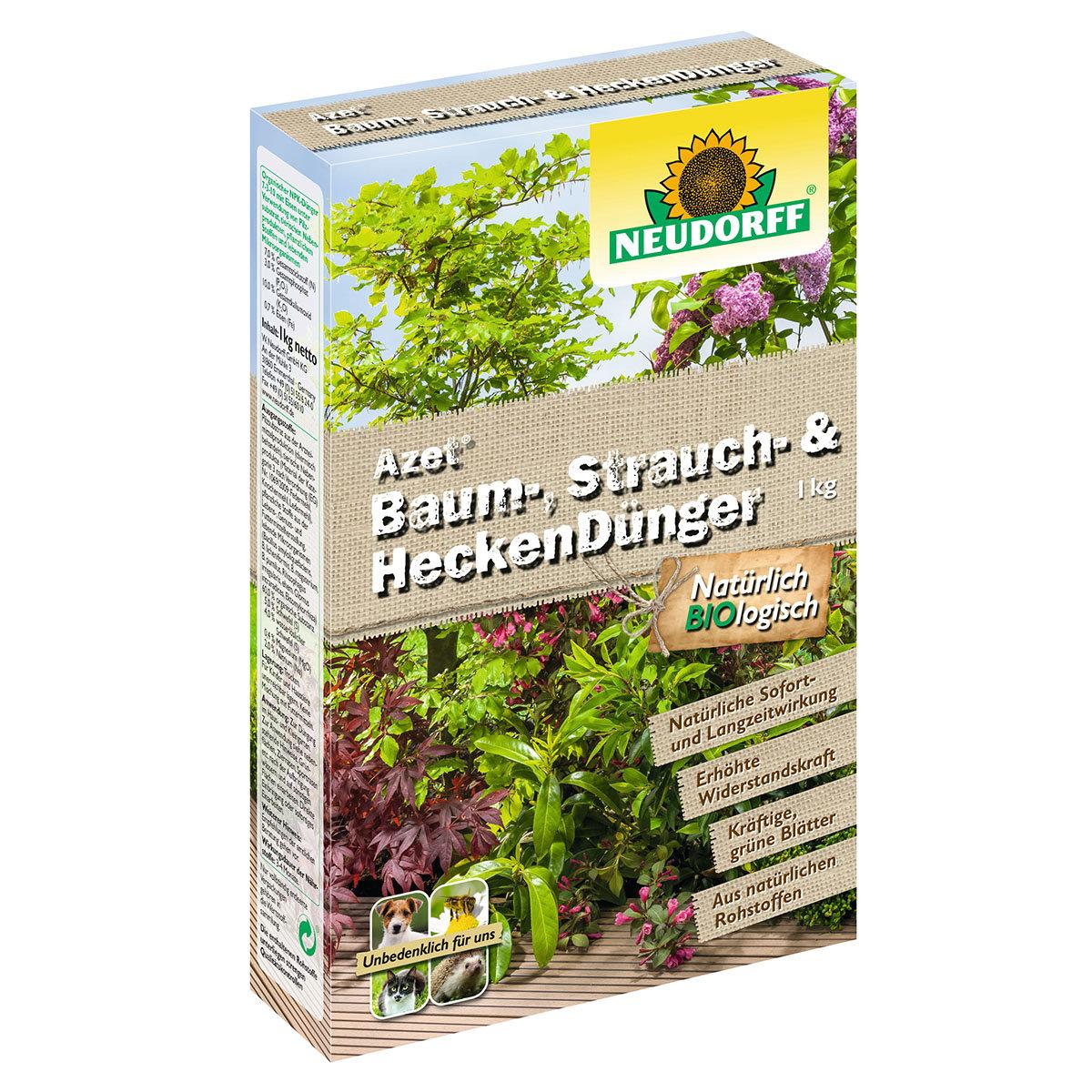 Neudorff Azet Baum-, Strauch- und Hecken-Dünger, 1 kg