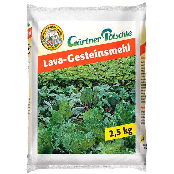 Gärtner Pötschke Lava-Gesteinsmehl, 2,5 kg