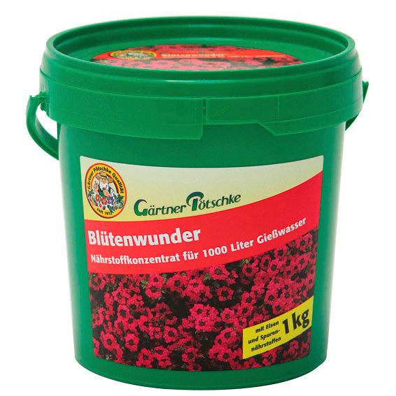 Gärtner Pötschke Blütenwunder Nährstoffkonzentrat, 1 kg