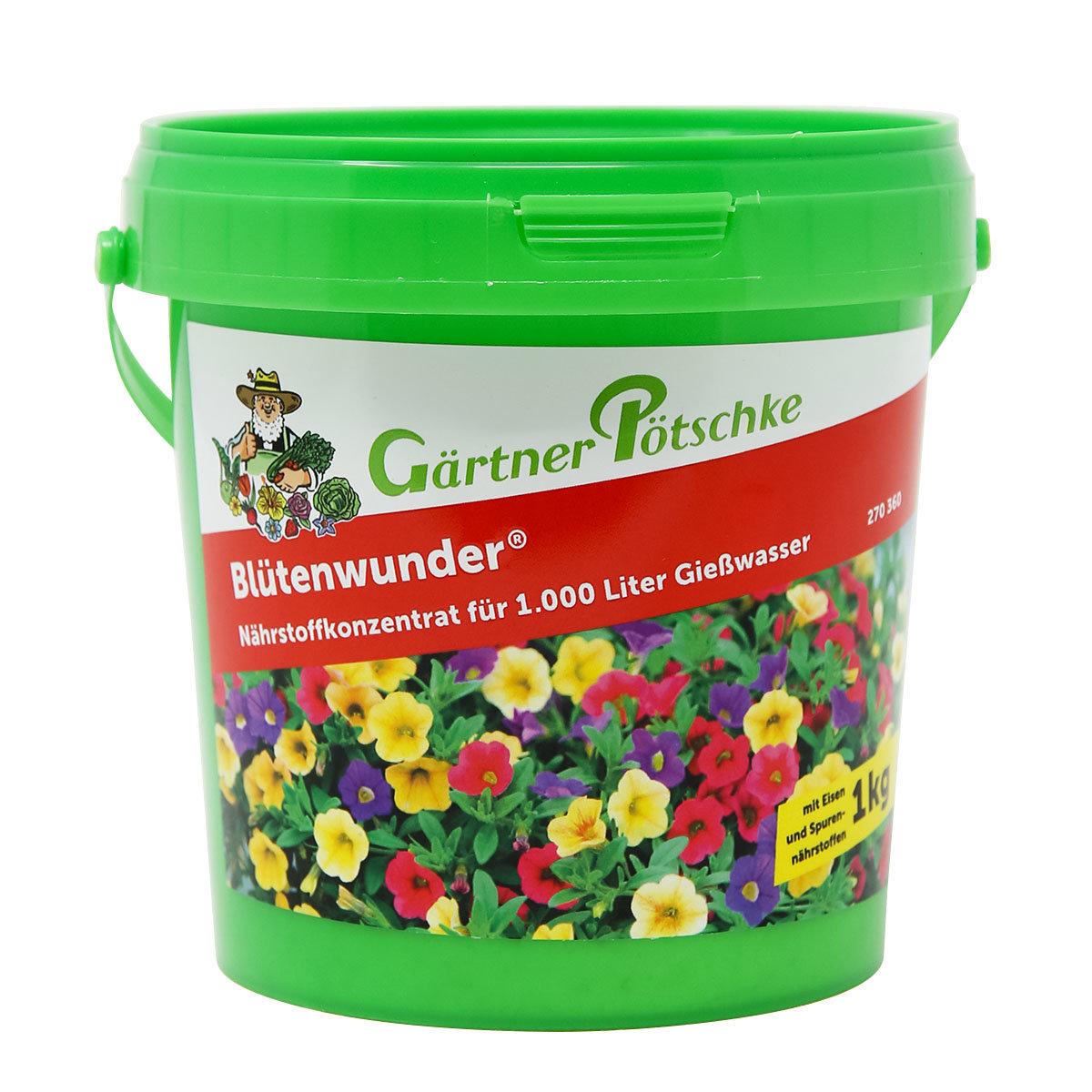 Blütenwunder Nährstoffkonzentrat, 1 kg