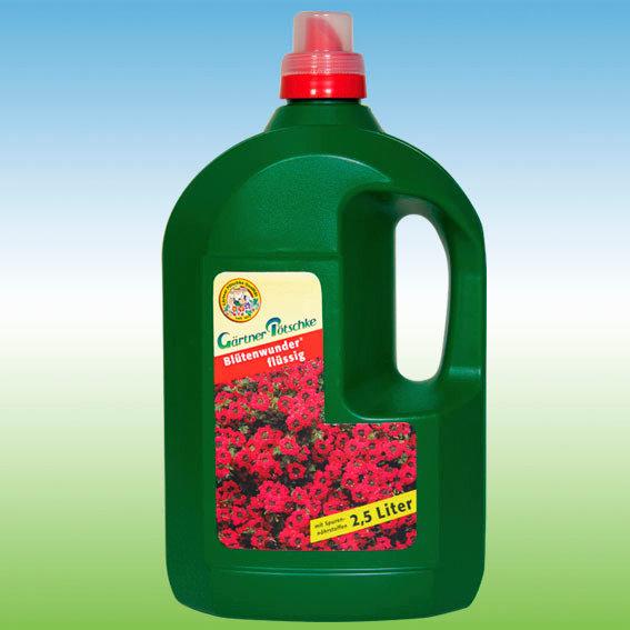 Gärtner Pötschke Blütenwunder flüssig, 2,5 Liter