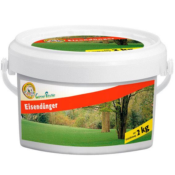 Gärtner Pötschke Eisendünger, 2 kg