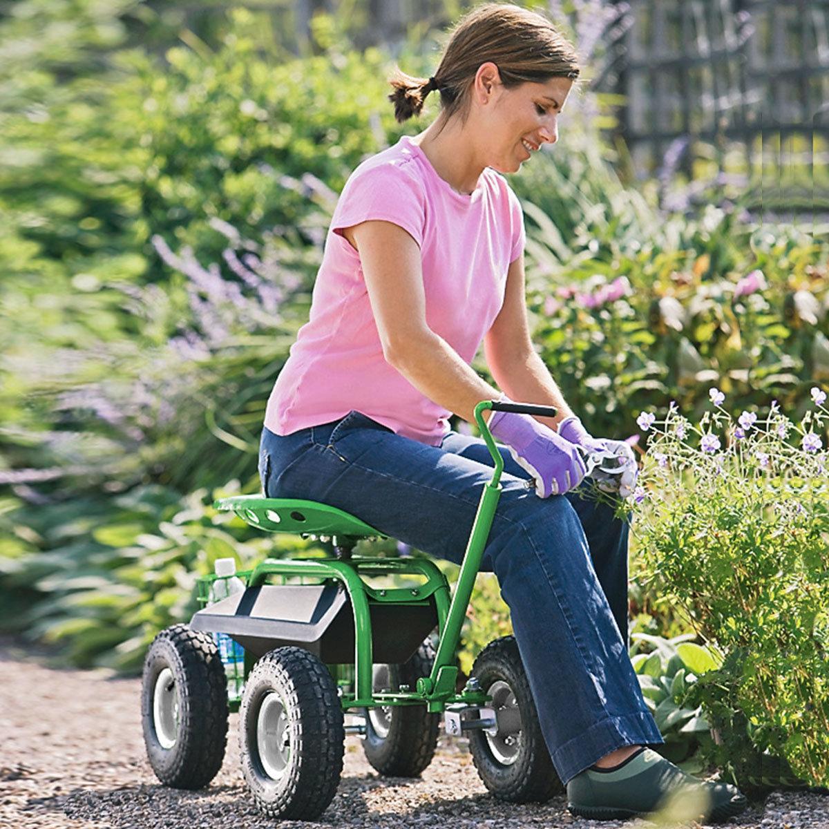 Garten-Scooter