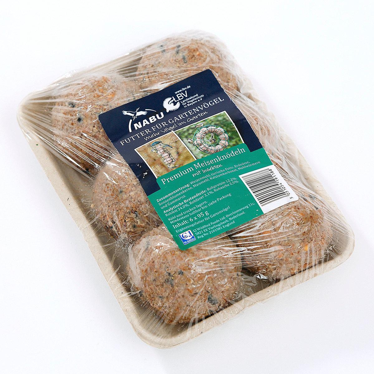 Meisenkn del mit insekten 6 st ck von g rtner p tschke for Gartentiere deko