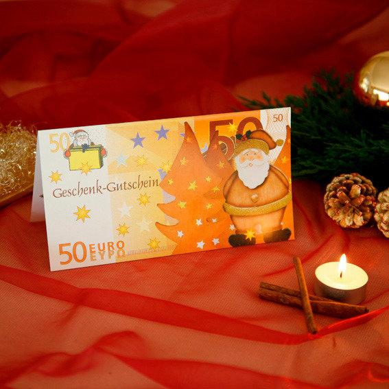 Gärtner Pötschkes Weihnachts-Gutschein 50,- Euro