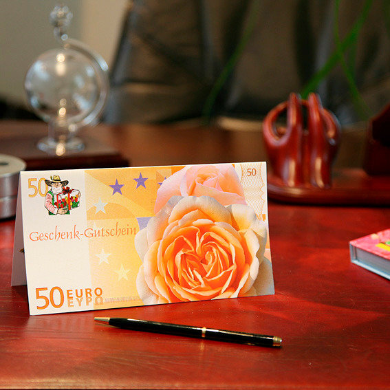 Gärtner Pötschkes Geschenk-Gutschein 50,- Euro