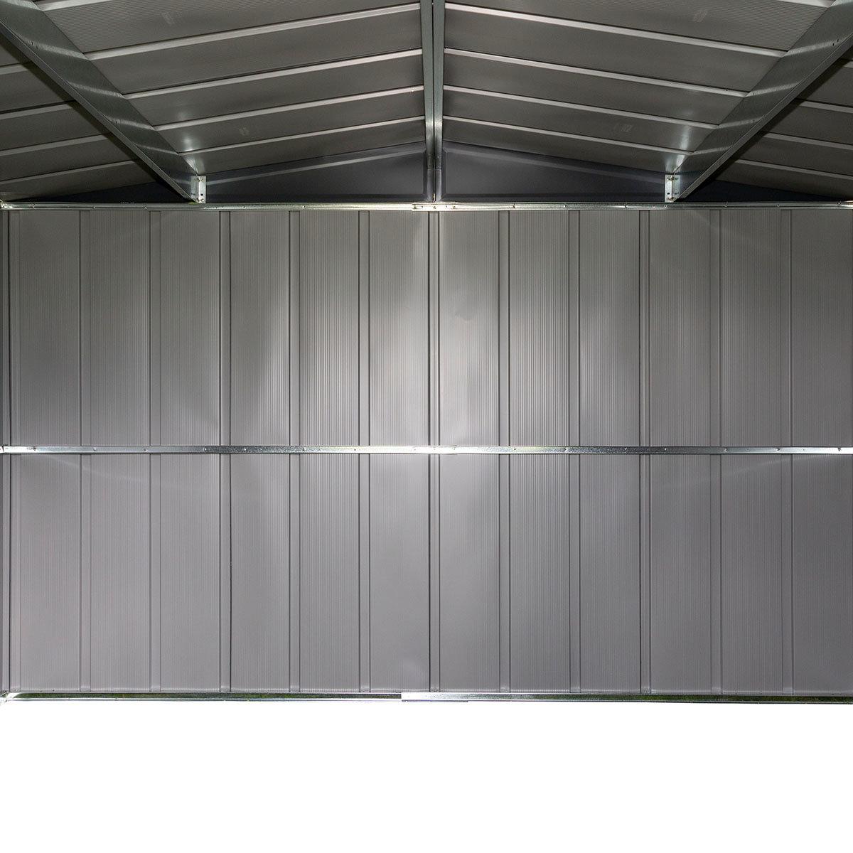 Metallgerätehaus Satteldach 10x8   #10