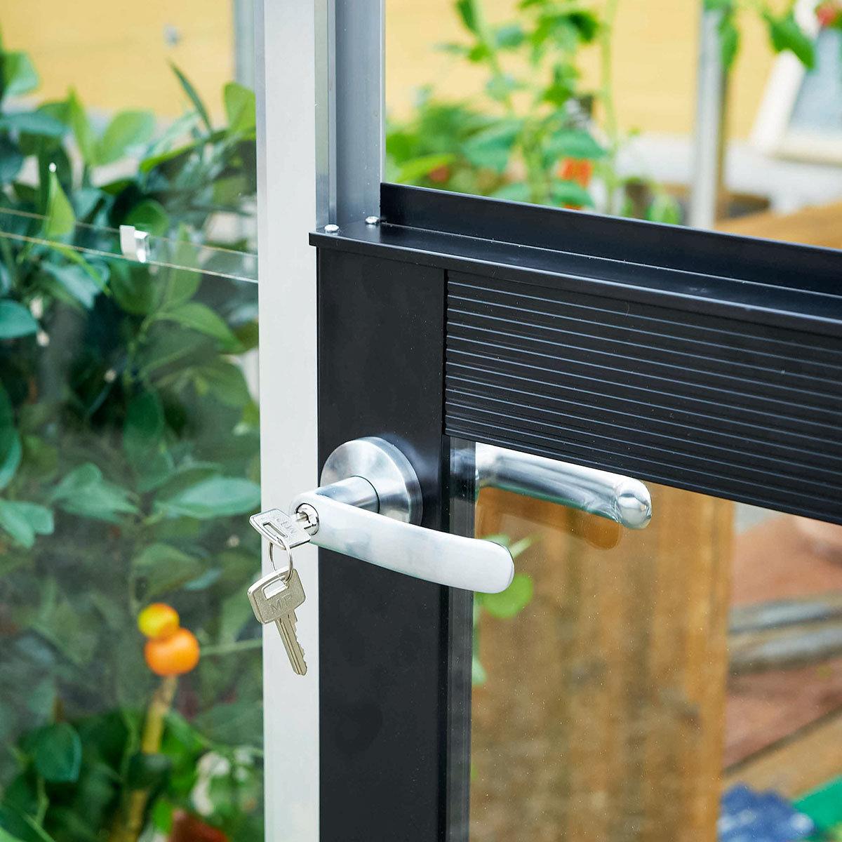 Gewächshaus Premium 13,0 m², silber | #10