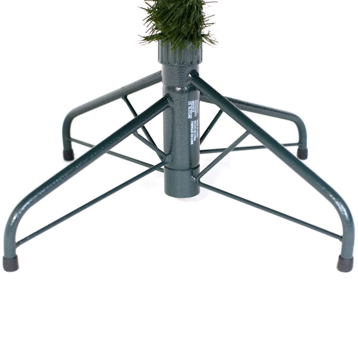 Künstlicher Weihnachtsbaum Fichte, mit LED-Beleuchtung, 150 cm | #10