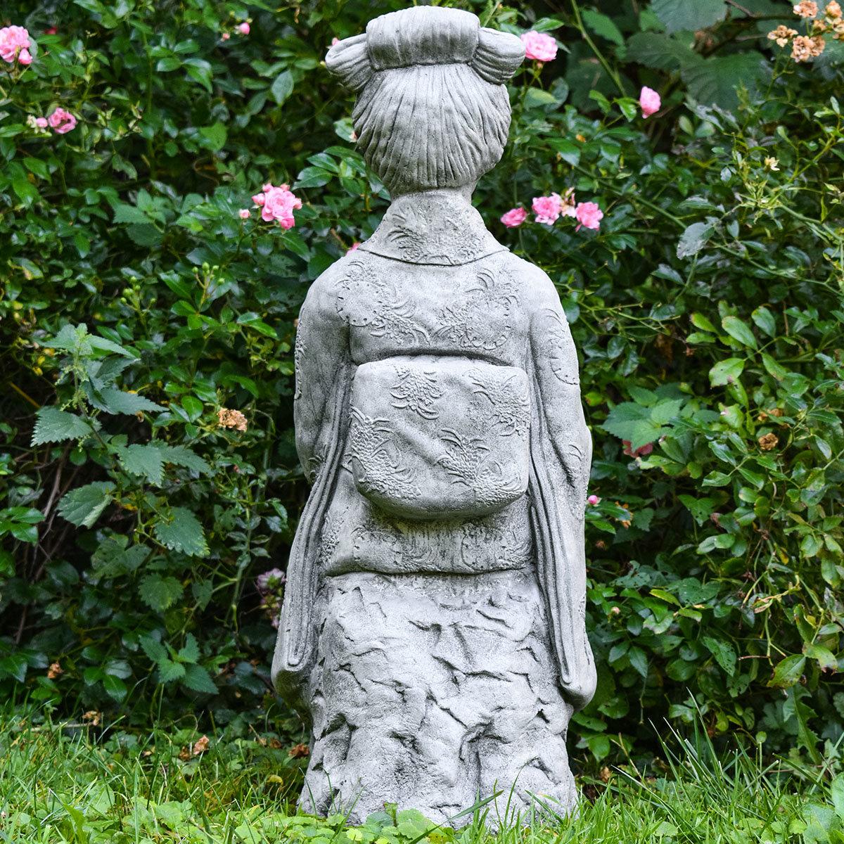 Garten-Steinfigur Geisha | #10