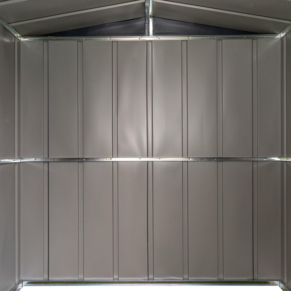 Metallgerätehaus, rostfrei, verzinkter Stahl, ca. 151 x 190 x 194 cm   #11