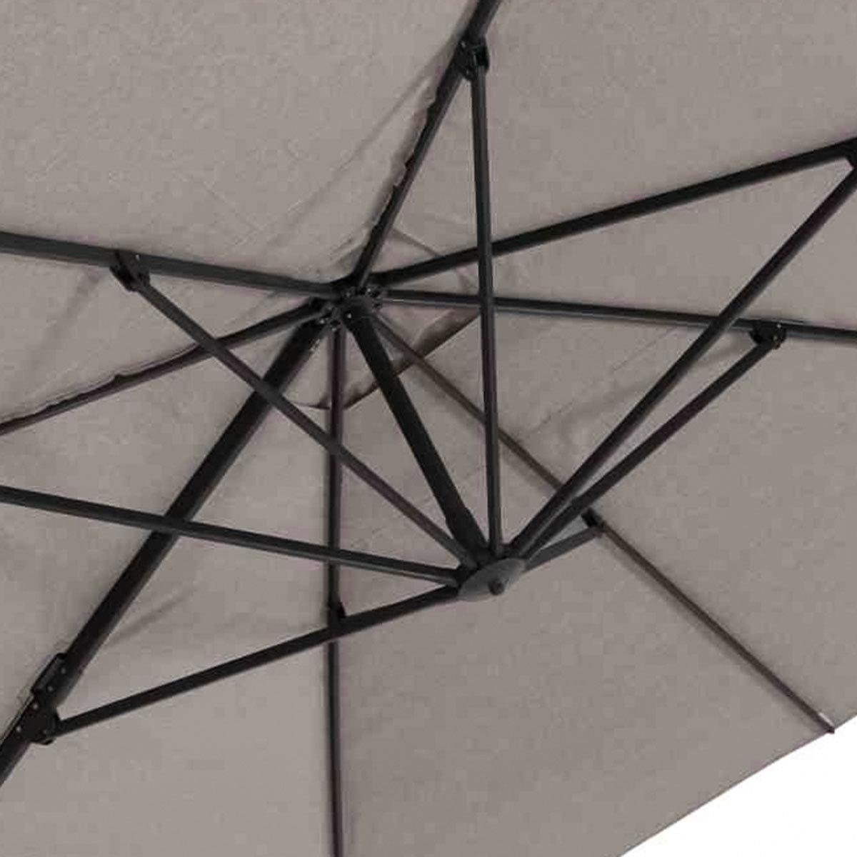 Sonnenschirm Cirrus 3x4m grau | #12