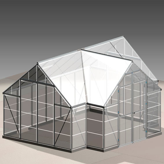 Orangerie Victory inkl. Stahlfundament - 10,5 qm | #12